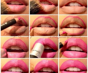 Collage, lips, and lovely image