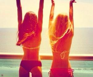 besties, summer, and love image
