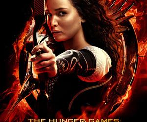 catching fire, hunger games, and katniss everdeen image