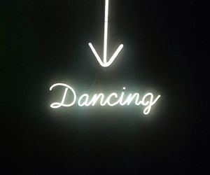 dance, light, and neon image