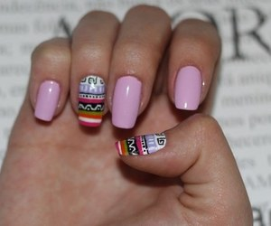 nails and etnic image