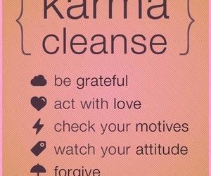 karma, quotes, and forgive image