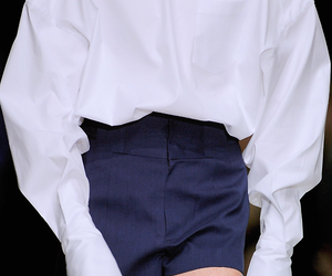 details, fashion, and white shirt image