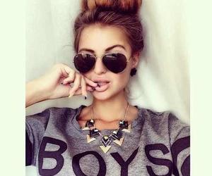 girl, boy, and hair image