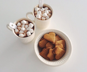 food, Cookies, and marshmallow image