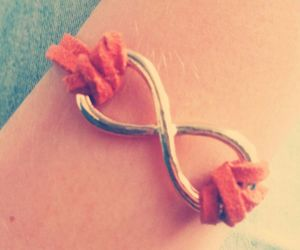 bracelet, brown, and cool image