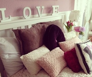 love, room, and bedroom image