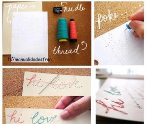 love, diy, and tutorial image