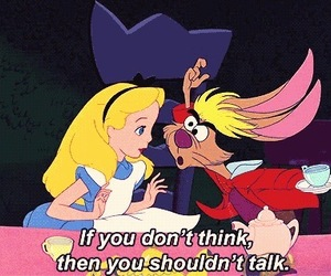 alice, disney, and quotes image