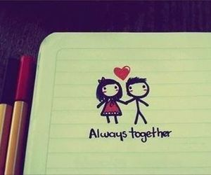love, together, and always image