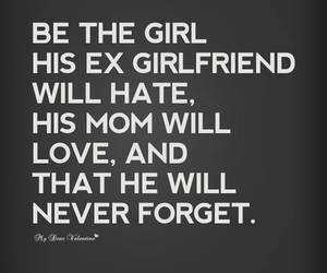 love, quote, and girlfriend image