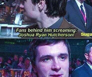 josh hutcherson, funny, and josh image