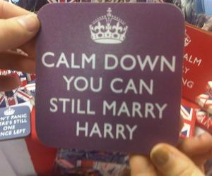 funny, keep calm, and prince harry image