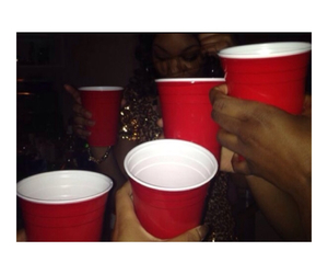 birthday, party, and redcup image