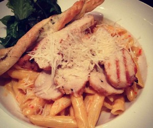 cheese, Chicken, and pasta image