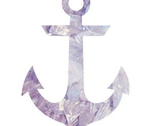 anchor, background, and crystal image