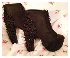 cool, fall, and high heels image