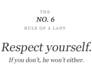 respect, lady, and quote image