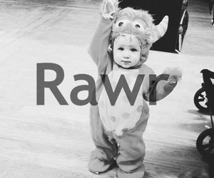 black and white, tumblr, and rawr image