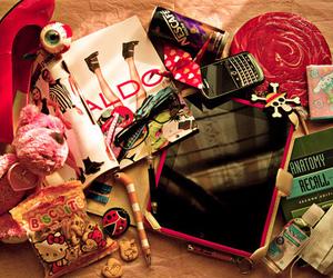 pink, ipad, and stuff image