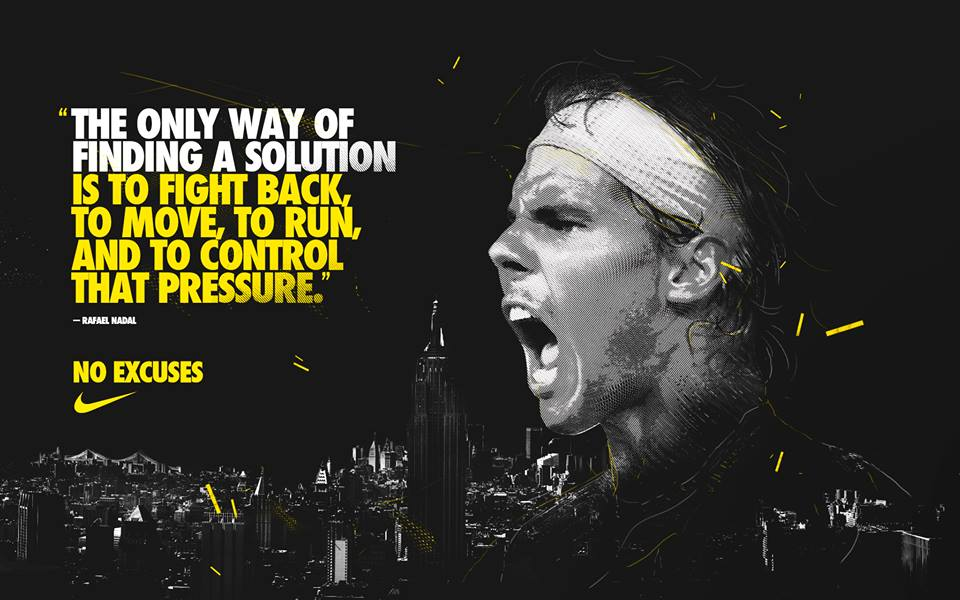 Quote By Rafa Nadal Via Facebook On We Heart It