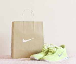 running, nike shoes, and fitspo image