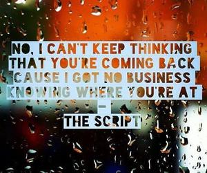 quote, Lyrics, and the script image