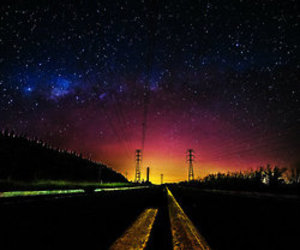 stars and road image