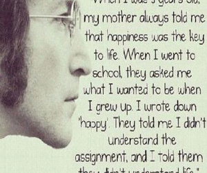 child, john lennon, and life image
