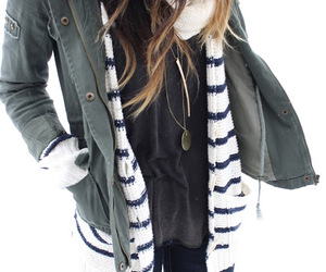 army, denim, and layers image