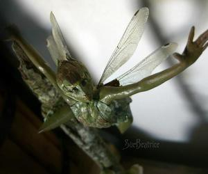 fairy, green, and hand-made image