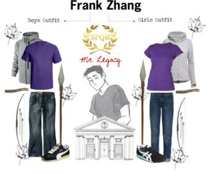 clothes, percy jackson, and frank zhang image