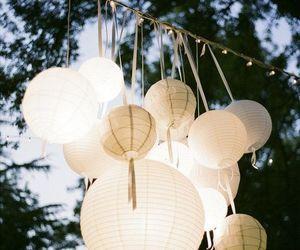 light, wedding, and lantern image