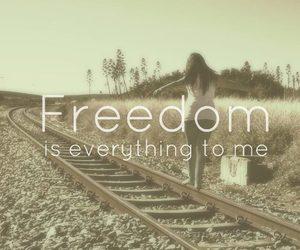 everything, girl, and freedom image
