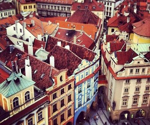 city, prague, and europe image