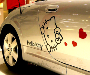 car and cute image