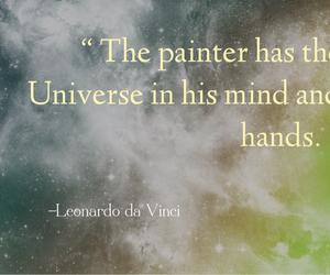 edit, galaxy, and Leonardo da Vinci image