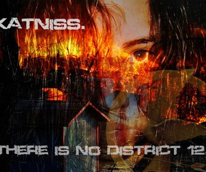 katniss, hunger games, and catching fire image