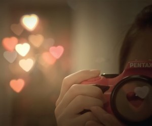 camera, photography, and hearts image