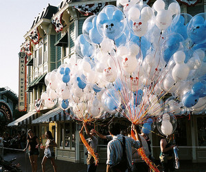 photography, balloons, and disney image