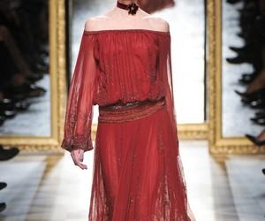 fashion, salvatore ferragamo, and claret red image