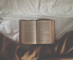 book and bed image