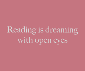 reading, book, and quotes image