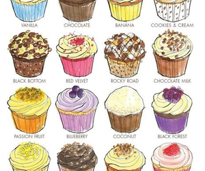 cupcakes, delicious, and pretty image