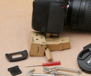 danbo, mechanic, and nikon image