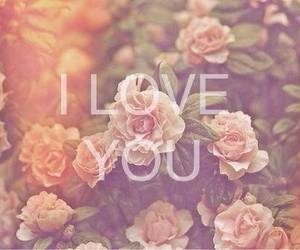 love, flowers, and you image
