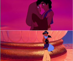 aladdin, disney, and happily ever after image