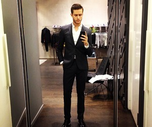 boy, sexy, and suit image