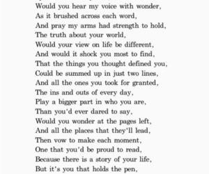 poem, quote, and story image
