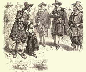 puritans, salem, and Witches image